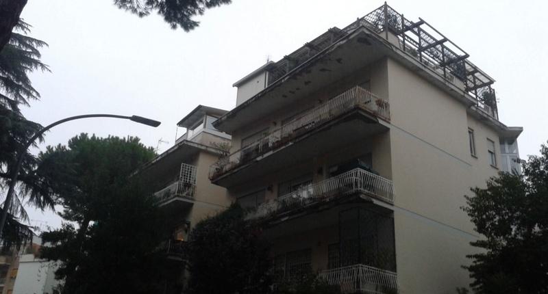 Impianto aerotermico per appartamento a roma.