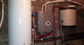 Pompa di calore aria acqua NIBE F2040 per impianto aerotermico a Grottaferrata