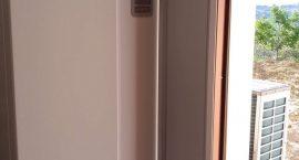 Pompa di calore NIBE Split Pack2 per impianto aerotermico integrato.