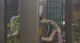 Pompa di calore per impianto aerotermico centralizzato.