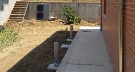 Pompa di calore unità esterna per impianto aerotermico.