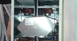 Pompa di calore Nibe Combi 185 per impianto di climatizzazione ad aria canalizzata.