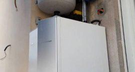 Pompa di calore NIBE Splòia Pack1 per impianto aerotermico in appartamento.