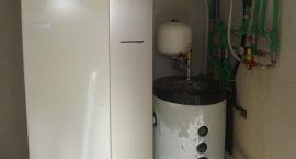 Pompa di calore NIBE Split Pack1 per villino monofamiliare.