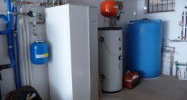 Pompa di calore NIBE Split pack2 per impianto aerotermico in villa monofamiliare.