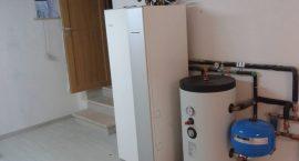 Pompa di calore NIBE Split pack2 per impianto aerotermico in villino.