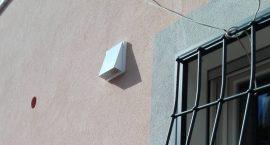 Ventilazione meccanica puntuale per impianto aerotermico in villino a Roma