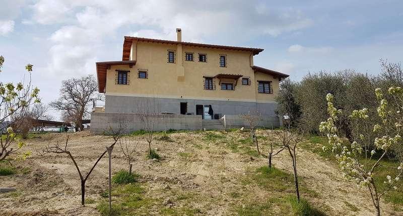 Impianto aerotermico per villa bifamiliare.