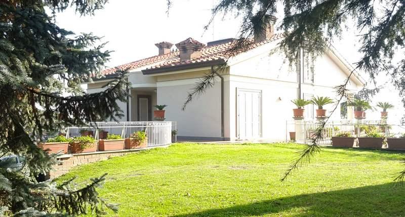 Impianto aerotermico per villa monofamiliare a Lanuvio.