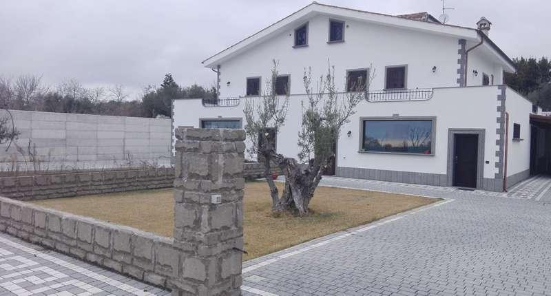 Impianto aerotermico per villa monofamiliare a Genzano