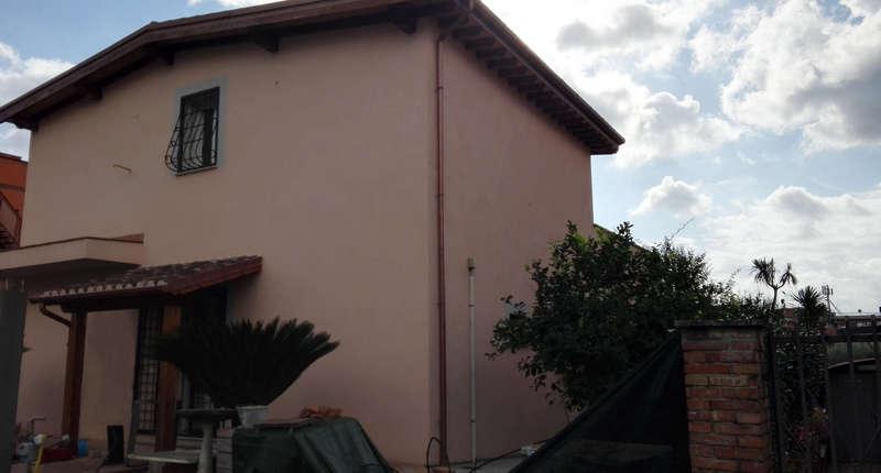 Impianto aerotermico per villino a Roma