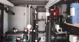 Pompa di caore geotermica per impianto centralizzato in palazzina a Ostia