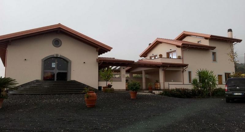 Impianto geotermico per azienda vinicola.
