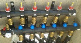 Impiantistica per sistema geotermico in palazzina di 24 appartamenti.