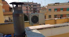 Pompa di calore geotermica aria acqua per appartamento