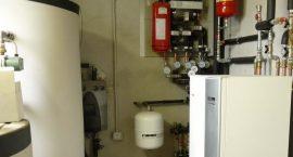 Pompa di calore NIBE F1145 per impianto aerotermico in agriturismo