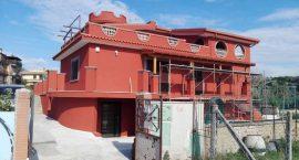 Impianto aerotermico raffrescamento e riscaldamento e acqua calda per villa a Roma