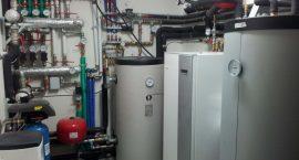 Pompa di calore geotermica NIBE F1245 per impianto idrotermico integrato con fotovoltaico.