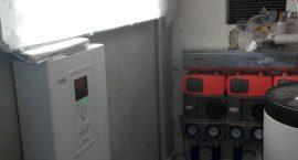 Pompa di calore geotermica per riscaldamento raffrescamento e acqua calda
