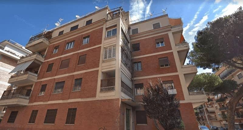 Impianto aerotermico appartamento roma